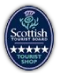We are rated 5 star by Visit Scotland