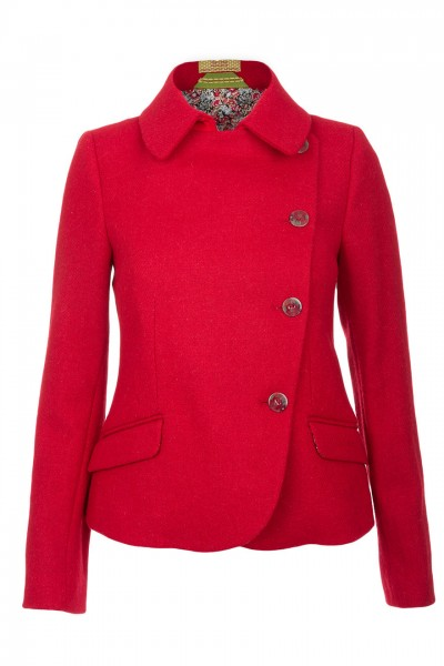 Abigail Harris Tweed Jacket in Red  ( Sold Out )