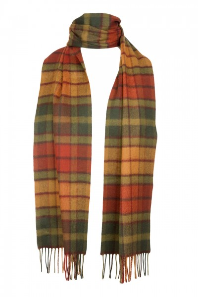 Tartan Lambswool in Autumn Buchanan